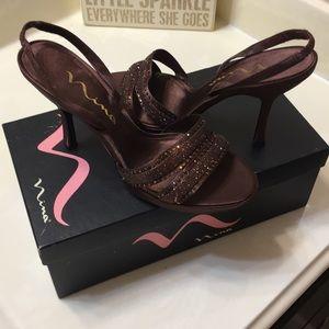 Nima Bamboo Metallic shoes